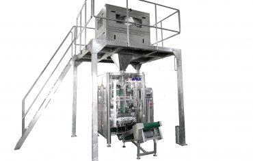 Automatic VFFS packaging machine for detergent powder
