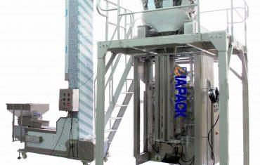 Máy đóng gói 4 túi tự động với van khử khí cho hạt cà phê