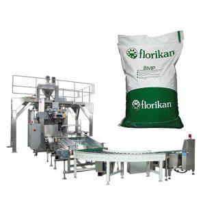 Máy đóng gói hàng loạt tự động cho sữa bột trong 10kg 25kg túi