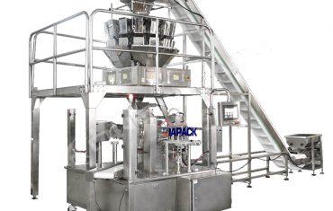 Automatic pet food packaging machine unit