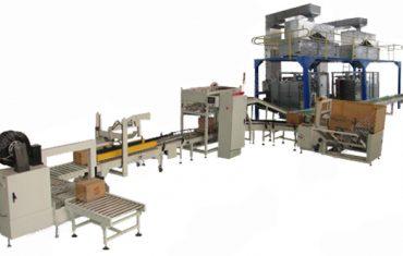 Dây chuyền sản xuất bao bì làm đầy hộp carton tự động