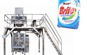 Máy đóng gói bột giặt dạng bột giặt 4 đầu tuyến tính
