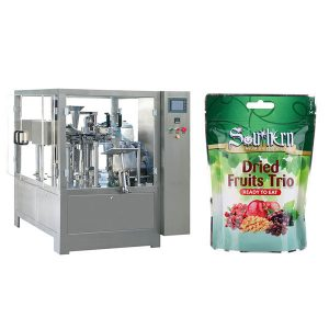 Pre-made doy packer automatic filling packaging machine