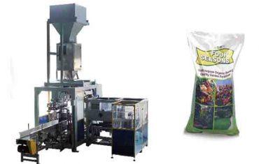 Máy đóng gói phân bón hóa học 50kg túi lớn tự động