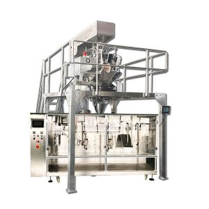 Máy đóng gói dạng hạt được làm sẵn ngang tự động