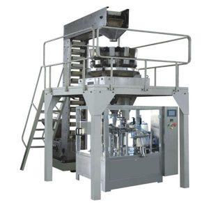 Tự động Premade Granule Cân điền và niêm phong dây chuyền sản xuất