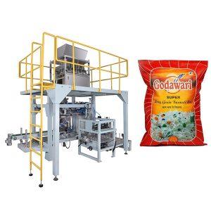 Máy đóng gói bao bì hạt túi lớn hạt gạo cho 10kg-50