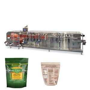 Doypack bột hạt đóng gói ngang hình thức điền vào con dấu máy