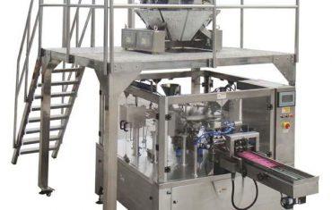 quay tự động dây kéo túi điền con dấu máy đóng gói cho hạt giống nuts