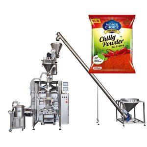 VFFS Bagger Máy đóng gói với Auger Phụ cho Paprika và Chilli Thực phẩm bột