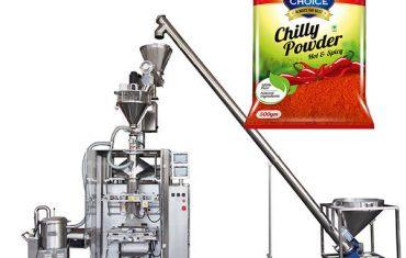 vffs bagger máy đóng gói với khoan phụ cho paprika và ớt bột thực phẩm