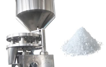 Máy chiết rót định lượng cốc thể tích cho sản phẩm dạng hạt